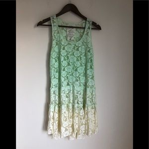 NWOT Free People lace ombré Tunic